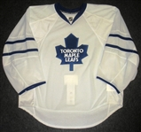 Blank - No Name or Number<br>White (RBK Edge Version 2.0) - CLEARANCE, FINAL SALE<br>Toronto Maple Leafs <br>Size: 558G