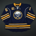 Zadorov, Nikita * <br>Blue  - NHL Debut and 1st Career NHL Goal - Photo-Matched<br>Buffalo Sabres 2013-14<br>#61 Size: 58