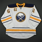 Zadorov, Nikita * <br>White - Photo-Matched<br>Buffalo Sabres 2013-14<br>#61 Size:58