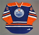 Arcobello, Mark<br>Blue Set 1<br>Edmonton Oilers 2014-15<br>#26 Size: 56