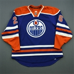 Arcobello, Mark<br>Blue Set 2<br>Edmonton Oilers 2014-15<br>#26 Size: 56