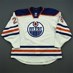 Arcobello, Mark<br>White Set 2<br>Edmonton Oilers 2014-15<br>#26 Size: 56