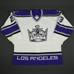 Brown, Dustin * <br>White Set 3<br>Los Angeles Kings 2005-06<br>#23 Size: 56