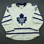 Franson, Cody<br>White Set 1<br>Toronto Maple Leafs 2014-15<br>#4 Size: 58
