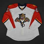 Bergenheim, Sean * <br>White Set 1 - Photo-Matched<br>Florida Panthers 2011-12<br>#20 Size: 56