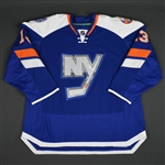 McDonald, Colin * <br>Blue - Stadium Series Period 2<br>New York Islanders 2013-14<br>#13 Size: 58