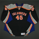 Nilsson, Anders * <br>Black Alternate -  Photo-Matched<br>New York Islanders 2013-14<br>#45 Size: 58+G