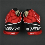 Cammalleri, Michael<br>Bauer Gloves (re-branded Easton Gloves)<br>New Jersey Devils <br>Size: 13