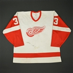Racine, Yves * <br>White<br>Detroit Red Wings 1989-90<br>#33