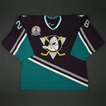 Havelid, Niclas * <br>Jade - Stanley Cup Final - worn in Game 7<br>Mighty Ducks of Anaheim 2002-03<br>#30 Size: 54