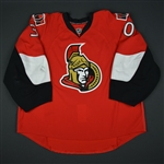 Bishop, Ben * <br>Red  - Photo-Matched<br>Ottawa Senators 2012-13<br>#30 Size: 58+G