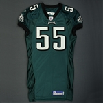 Jones, Dhani * <br>Green<br>Philadelphia Eagles 2005<br>#55 Size: 46 LINE