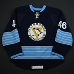 Vitale, Joe *<br>Blue Alternate - Photo-Matched<br>Pittsburgh Penguins 2011-12<br>#46 Size: 56