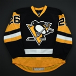 Winnik, Daniel *<br>Black Alternate  - Photo-Matched<br>Pittsburgh Penguins 2014-15<br>#26 Size: 56