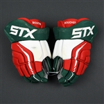 Boucher, Reid<br>STX Surgeon Gloves (Retro Colors)<br>New Jersey Devils 2015-16<br>