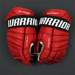 Butcher, Will<br>Warrior Alpha Gloves <br>New Jersey Devils 2017-18<br>