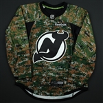 Blank - No Name or Number<br>Camouflage Military Appreciation Warm-Up - CLEARANCE<br>New Jersey Devils <br> Size: 52