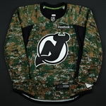 Blank - No Name or Number<br>Camouflage Military Appreciation Warm-Up - CLEARANCE<br>New Jersey Devils <br> Size: 56