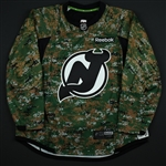 Blank - No Name or Number<br>Camouflage Military Appreciation Warm-Up - CLEARANCE<br>New Jersey Devils <br> Size: 58+