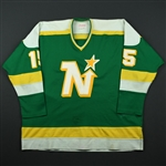 Smith, Bobby  *<br>Green<br>Minnesota North Stars 1981-83<br>#15 Size: 56