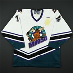Gordon, Rhett *<br>White<br>Manitoba Moose 1998-99<br>#14