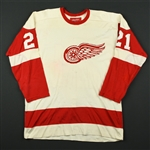 Grant, Danny *<br>White<br>Detroit Red Wings Mid 1970s<br>#21 Size: 48