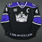 Blake, Rob *<br>Black w/Hockey Fights Cancer patch, w/C, worn 1/12/08 - Autographed<br>Los Angeles Kings 2007-08<br>#4 Size: 60