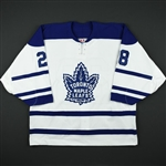Domi, Tie *<br>Third Set 2 / Playoffs<br>Toronto Maple Leafs 2002-03<br>#28 Size: 54