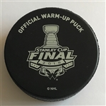 Vegas Golden Knights Warmup Puck<br>2018 Stanley Cup Final, Game 4 - June 4, 2018 vs. Washington Capitals<br> 2017-18
