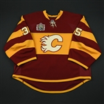 Karlsson, Henrik  *<br>Heritage Classic (Period 2)<br>Calgary Flames 2010-11<br>#35 Size: 58+G