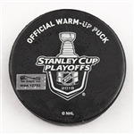 Vegas Golden Knights Warmup Puck<br>2018 Stanley Cup Final, Game 5  - June 7, 2018 vs. Washington Capitals<br> 2017-18