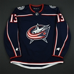 Atkinson, Cam<br>Blue Set 2 <br>Columbus Blue Jackets 2017-18<br>#13 Size: 54