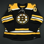 Bjork, Anders<br>Black Set 2<br>Boston Bruins 2017-18<br>#10 Size: 56
