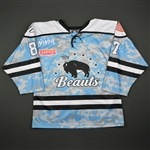 Beikirich, Morgan<br>Camouflage Military Appreciation Day  - November 12 Only<br>Buffalo Beauts 2016-17<br>#87 Size: 50