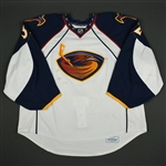 Lehtonen, Kari  *<br>White Set 1 - Photo-Matched<br>Atlanta Thrashers 2008-09<br>#32 Size: 58+G