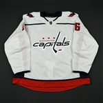 Albert, John<br>White Set 2 - Game-Issued (GI)<br>Washington Capitals 2017-18<br>#16 Size: 58