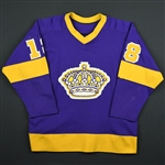 Taylor, Dave *<br>Purple<br>Los Angeles Kings 1979-80<br>#18 Size: 46