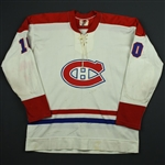 Lafleur, Guy *<br>White<br>Montreal Canadiens 1972-73<br>#10 Size: NA