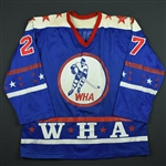 Mahovlich, Frank *<br>Blue<br>WHA All Star 1974-75<br>#27 Size: XL