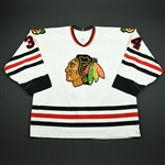 Strudwick, Jason *<br>White Set 2<br>Chicago Blackhawks 2002-03<br>#34 Size: 58