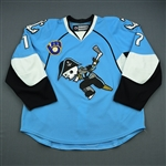 Latta, Michael *<br>Blue - Photo-Matched<br>Milwaukee Admirals 2011-12<br>#17 Size: 56