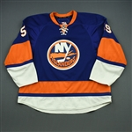 Haley, Micheal *<br>Blue -Photo-Matched<br>New York Islanders 2009-10<br>#59 Size: 58