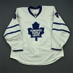 Hollweg, Ryan *<br>White Set 2<br>Toronto Maple Leafs 2008-09<br>#44 Size: 56