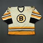 Joyce, Bob *<br>White  - Photo-Matched<br>Boston Bruins 1988-89<br>#27 Size: N/A