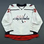 Djoos, Christian<br>White Set 1 (A removed)<br>Washington Capitals 2018-19<br>#29 Size: 56