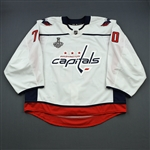 Holtby, Braden <br>White Stanley Cup Final Set 2 - PHOTO-MATCHED<br>Washington Capitals 2017-18<br>#70 Size: 58G