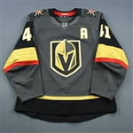 Bellemare, Pierre-Edouard<br>Gray Set 1 w/A<br>Vegas Golden Knights 2018-19<br>#41 Size: 54