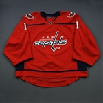 Copley, Pheonix<br>Red Set 1 <br>Washington Capitals 2018-19<br>#1 Size: 58G