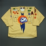 Martin, Derick *<br>Scout Night Jersey w/A<br>Orlando Solar Bears 2012-13<br>#9 Size: 56