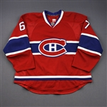 Pacioretty, Max *<br>Red - Set 2A - Photo-Matched<br>Montreal Canadiens 2011-12<br>#67 Size: 56